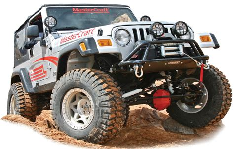 prerunner jeep wrangler fabtech front prerunner bumper in black for 87 06 jeep