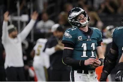 Carson Wentz Eagles Progress Bad Interception Philly