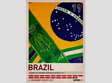 Formula 1 2011 Poster Series by PJ Tierney