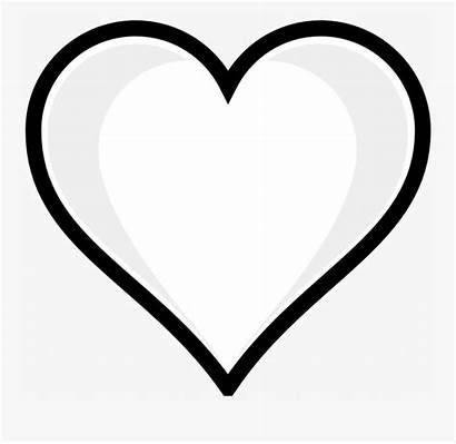 Heart Coloring Printable Sheets Colouring Clipart Clipartkey