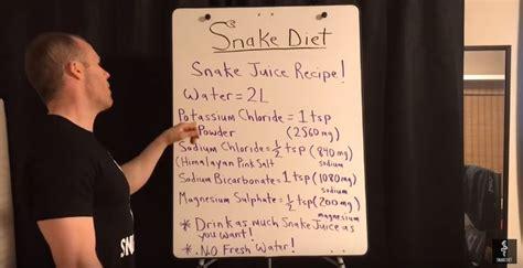 snake juice recipe snake juice juice diet juice