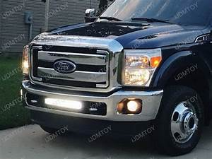 How To Wire Led Light Bar Without Relay 120w High Power Led Light Bar For Ford F 250 F 350 Super Duty