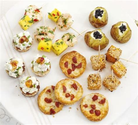 savoury canapes savoury bites recipe food