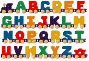 maple landmark wooden bright a z nametrain alphabet train With maple landmark train letters