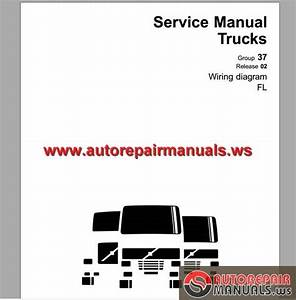 Volvo Fl Truck Wiring Diagram Service Manual Download April 2007