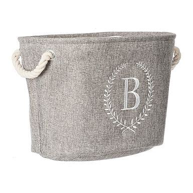 home personalized  organized   gray