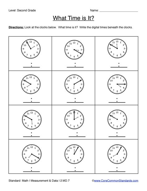 Common Core Worksheet  2md7  Have Fun Teaching