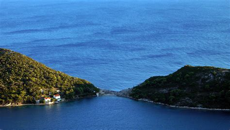tiny secluded beach   adriatic sea huffpost
