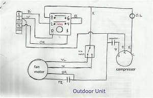 Split Ac Wiring Diagram