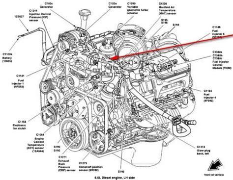 powerstroke engine diagram