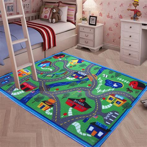 Floor Area Rug Baby Kids Child Play Mat Antislip Bedroom