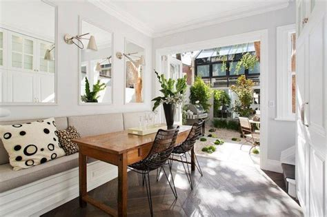 Long Dining Banquette