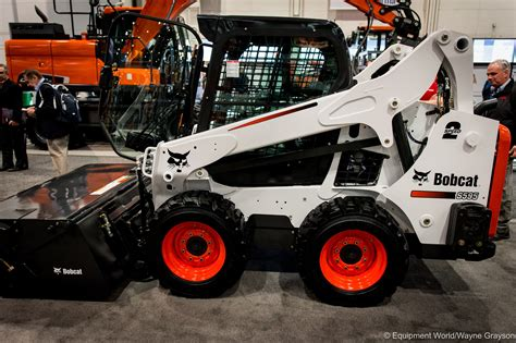 bobcat unveils s595 skid steer designed for high