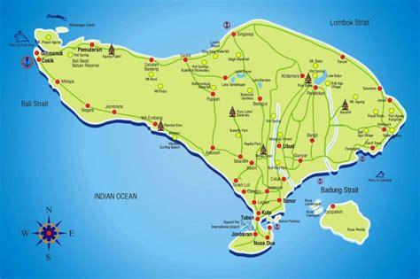 map  bali bali tourist map tooristr map  bali bali