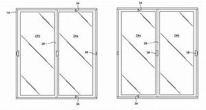 patent us8336265 reversible sliding glass door google With sliding door design drawing