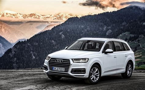 Audi Q7 4k Wallpapers by 2015 Audi Q7 Tdi White Suv Car 4k Wide Screen Wallpaper