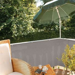 Balkon Sichtschutz Kunststoff Grau : balkonbespannung pe classic grau sichtschutz ~ Bigdaddyawards.com Haus und Dekorationen