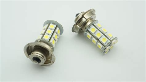 2x 12v P26 S 24 Smd Led White Motorbike Motorcycle