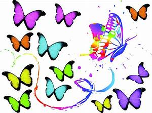 Pin Clipart Butterflies And Music Notes Royalty Free ...