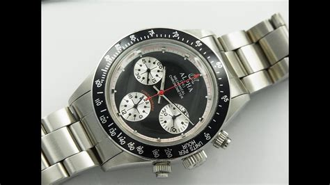paul newman homage alpha daytona paul newman homage review youtube