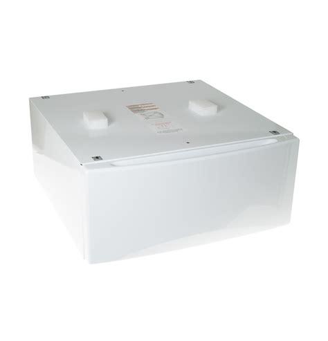 ge white washer  dryer pedestal sbsdhww