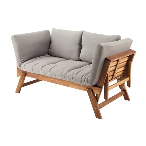 divanetto giardino divanetto da giardino modulabile in acacia 3 posti relax
