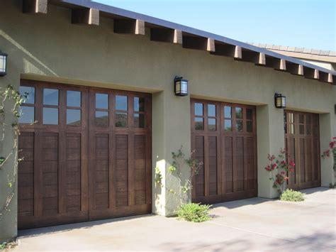 craftsman style garages custom garage doors