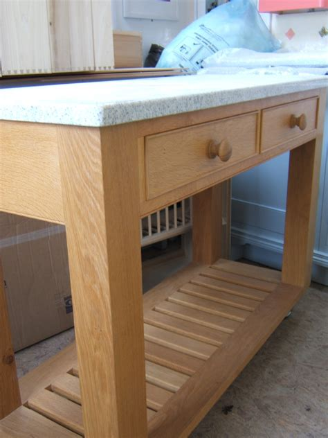 simple kitchen island kitchen island on casters homesfeed