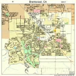 Brentwood California Map
