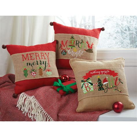 mud pie mh christmas holly home decor word art burlap