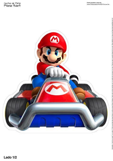 Super Mario Bros Free Printable Centerpiece Oh My