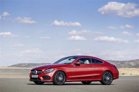 mercedes benz  class coupe grows  size  news