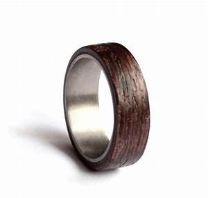wood and metal wedding rings wedding dress collections With wood and metal wedding rings