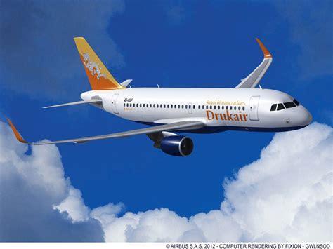 Bhutan's Drukair Confirms Order For Airbus A319 With Sharklets