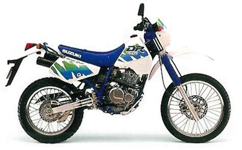 1991 Suzuki Dr350 suzuki dr350 model history