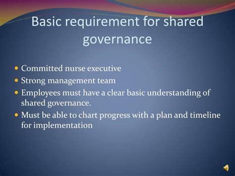 nursing shared governance powerpoint