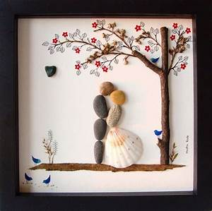 unique wedding gift customized wedding gift pebble art With unique wedding gifts ideas