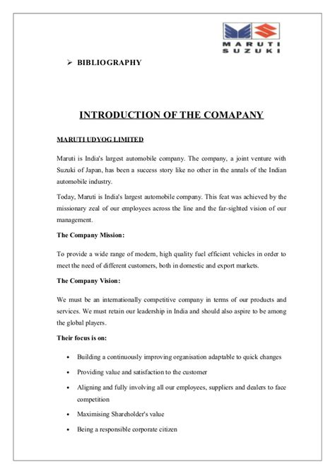 Suzuki Certification by A Project Report On The Leadership Story Of Maruti Suzuki