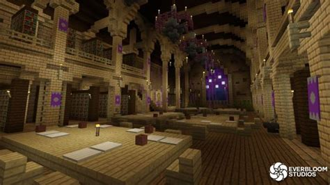 wizard school roleplay minecraft marketplace map