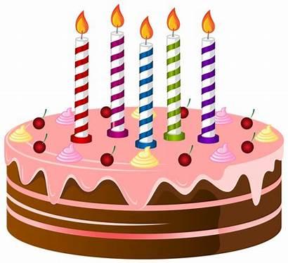 Cake Birthday Clip Clipart Cakes Transparent Yopriceville
