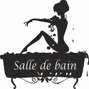 Stickers Porte Salle De Bain : sticker salle de bain ~ Dailycaller-alerts.com Idées de Décoration
