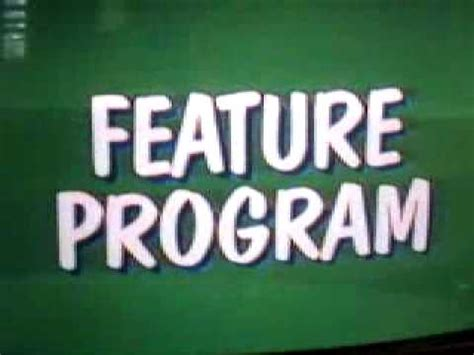 Feature Program Logo - YouTube