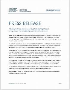 word press release template 28 images press release With microsoft word press release template