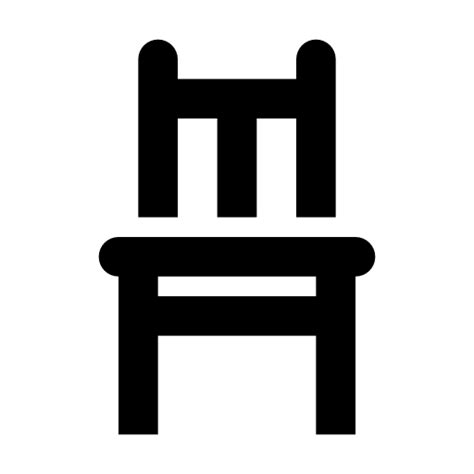 white kitchen furniture sets chair icon free at icons8