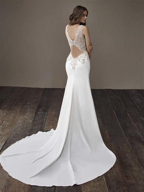 glamorously modern badgley mischka wedding dresses bride