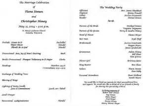 wording for wedding programs wedding program wording the wedding specialiststhe wedding specialists