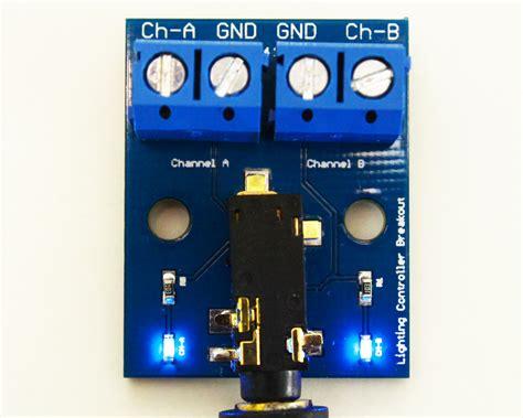 lighting controller diy breakout board 2 channel bluefish aquarium led controller
