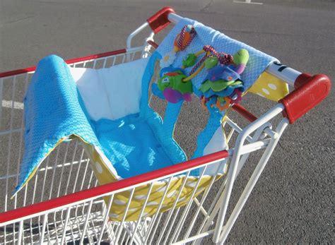 siège bébé pour caddie protection de caddie la cabane à couture