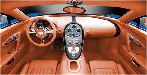 Newmotoring Bugatti Veyron Interior