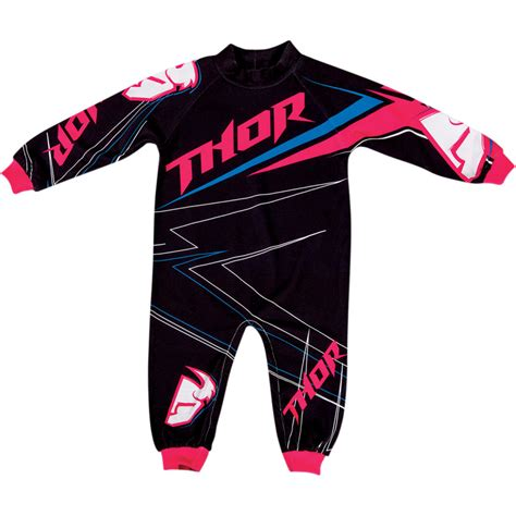 infant motocross 2015 thor mx infant one piece stripe pajamas child baby